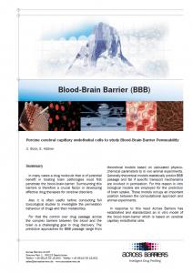 """Factsheet """"Blood-Brain Barrier"""""""